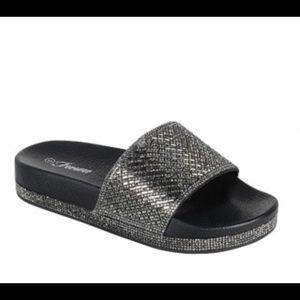 Shoes - Sparkle Slides